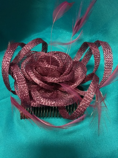 Hair piece with comb image